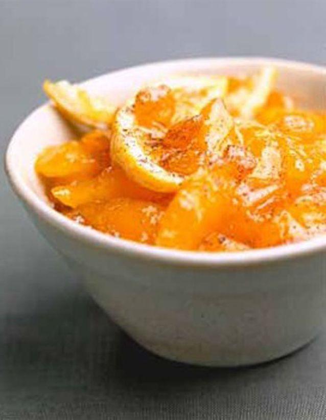 Salsa de mangues fraîches