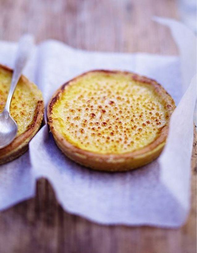Tartelettes crème brûlée gingembre