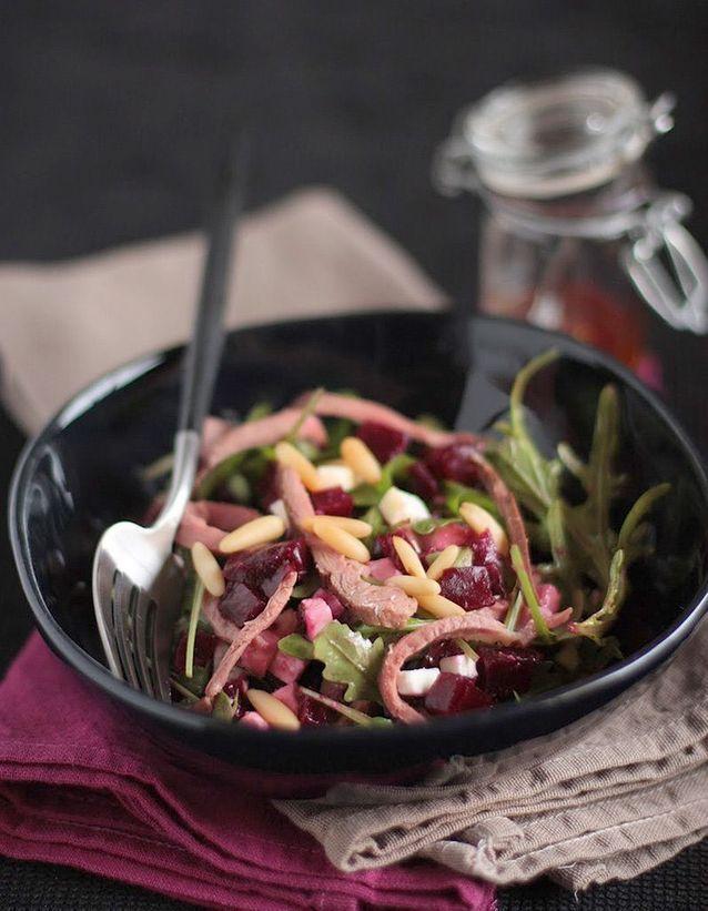 Salade d'hiver à la betterave