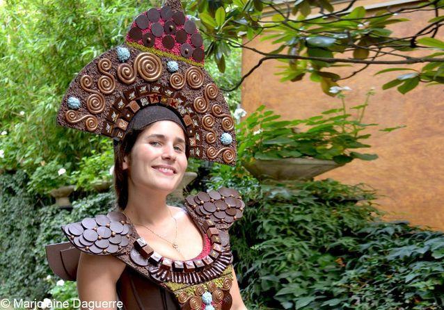 Salon du Chocolat 2012 : Josephine Draï belle à croquer !