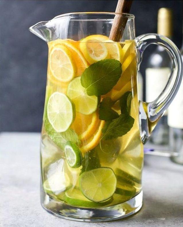 Sangria blanche citron