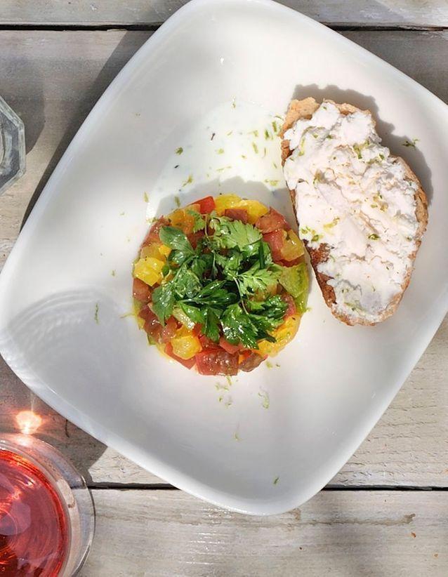 La salade grecque par Arnaud Carton de Grammont