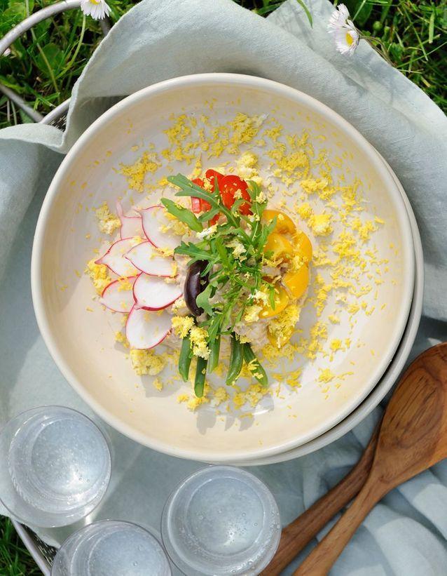La salade niçoise par Virginie Basselot