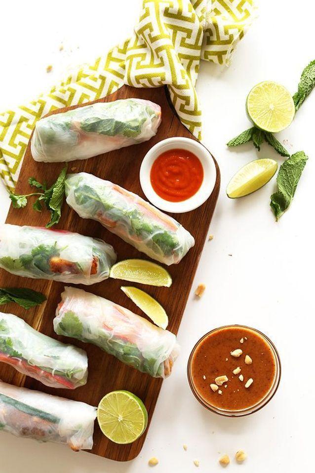 Springroll cuisine asisatique