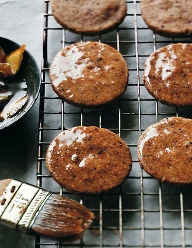 Cookies au miel et aux noisettes