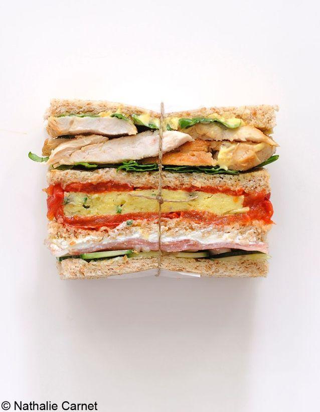 Sandwichs à étages