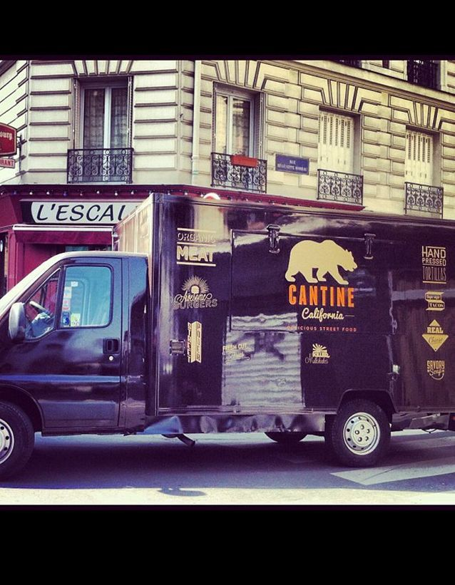 Cantine california food truck paris 4