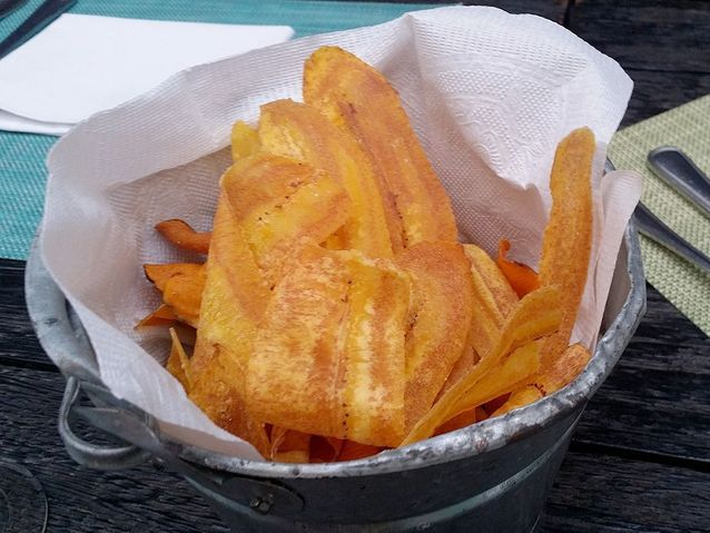 Chips de banane plantain