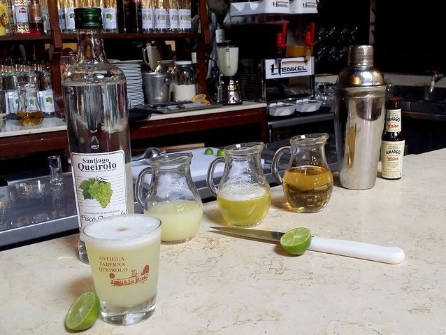 Le pisco sour, la boisson nationale