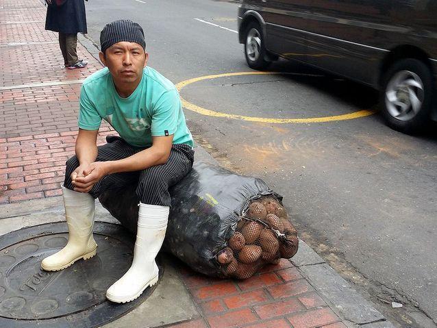 Livreur de pommes de terre
