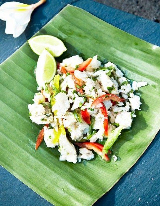 Salade de poisson à la mauricienne