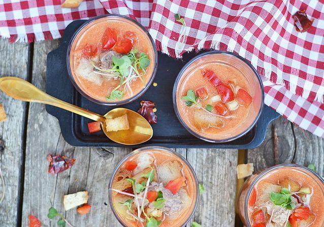 On veut un gaspacho original pour l'été