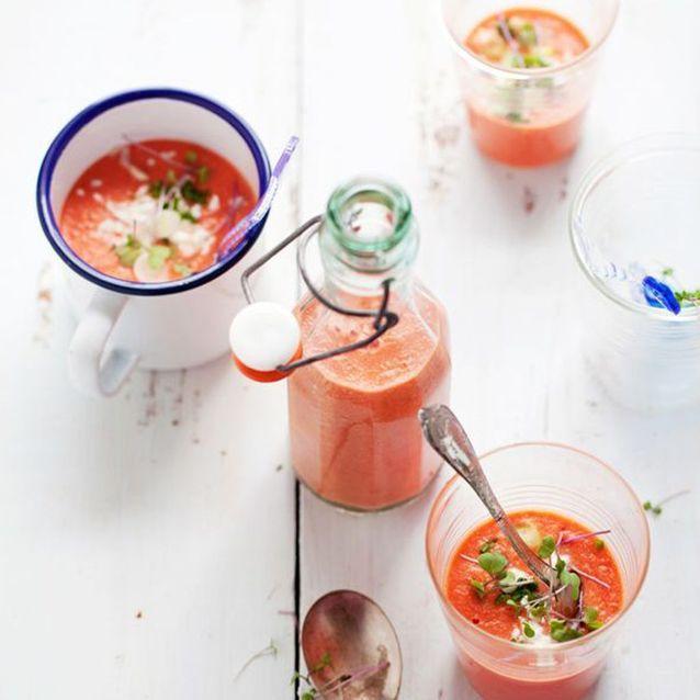 Gaspacho de pastèque - tomates