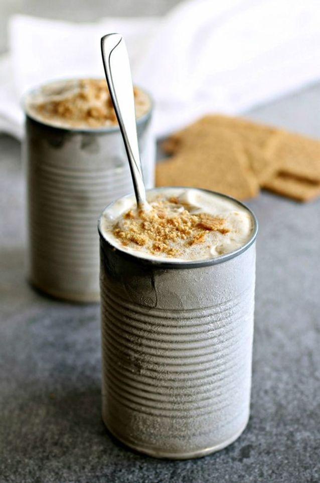Yaourt glacé au beurre de cacahuètes et banane