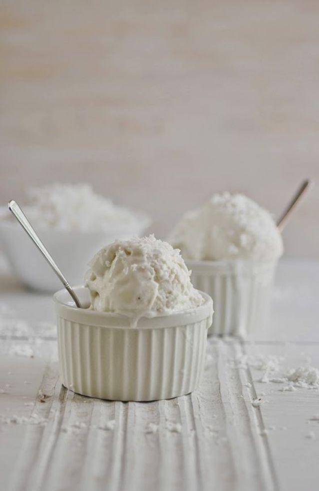 Yaourt glacé coco