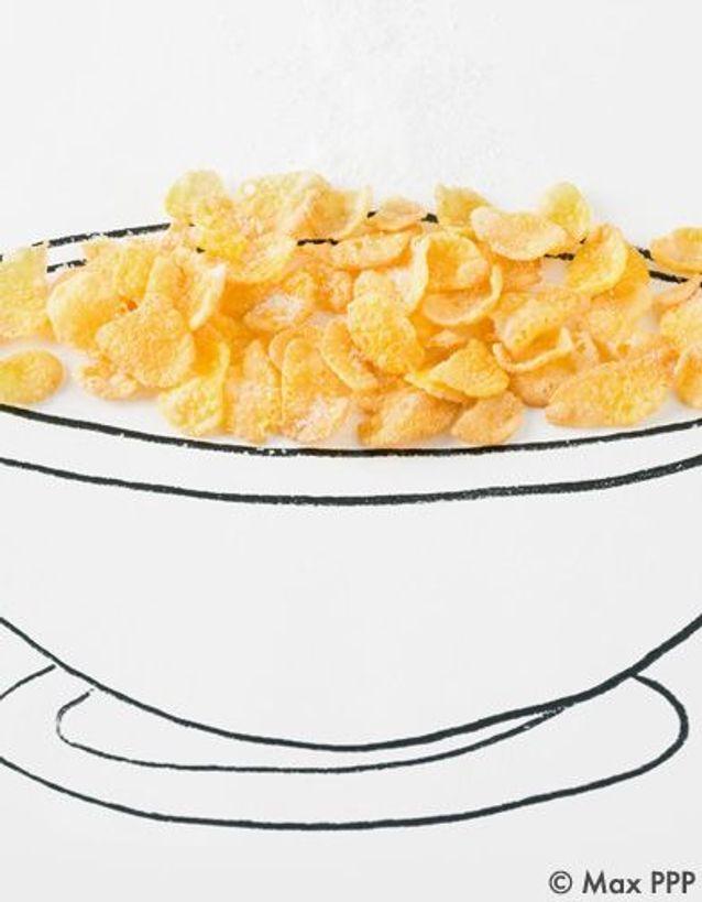 Les corn flakes :