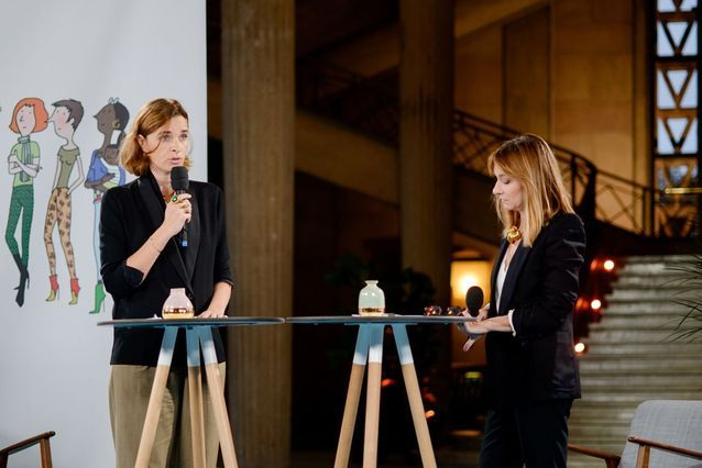 Florence Besson et Erin Doherty (ELLE)