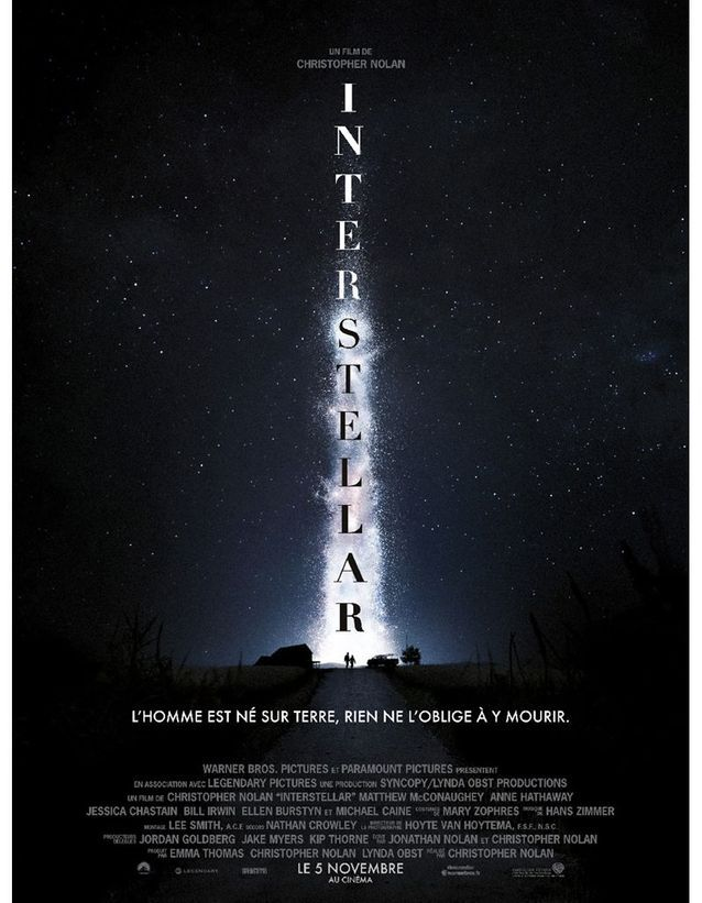 « Interstellar » de Christopher Nolan