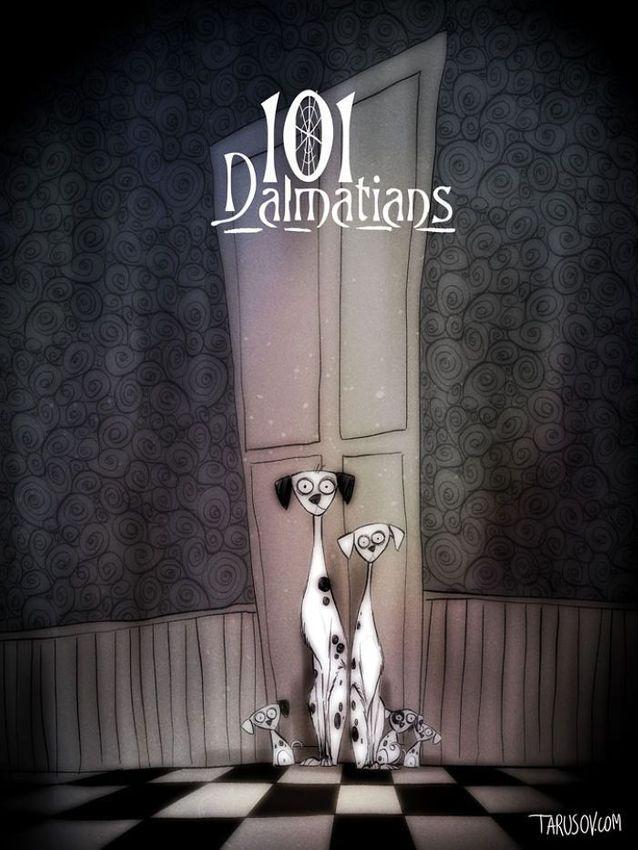 Les 101 Dalmatiens par Andrew Tarusov