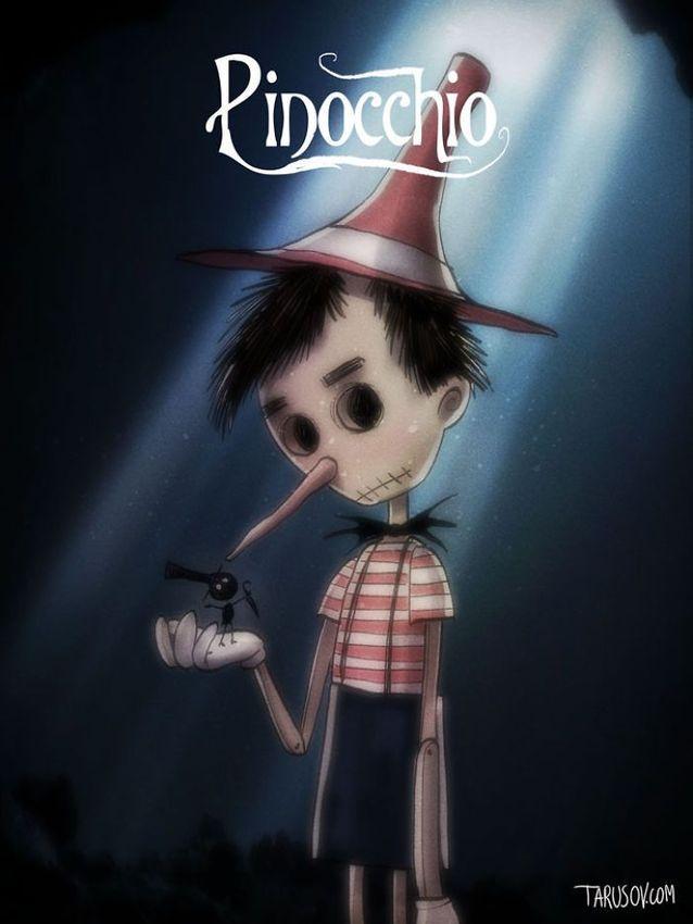 Pinocchio par Andrew Tarusov