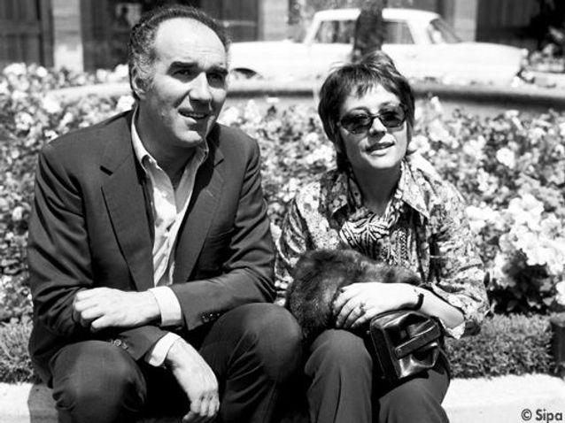 Avec Michel Piccoli