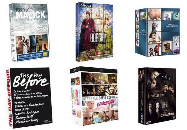 Des coffrets DVD à shopper pour Noël