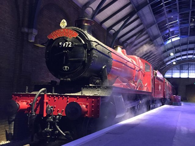 Take a look behind the scenes at Harry Potter in London!