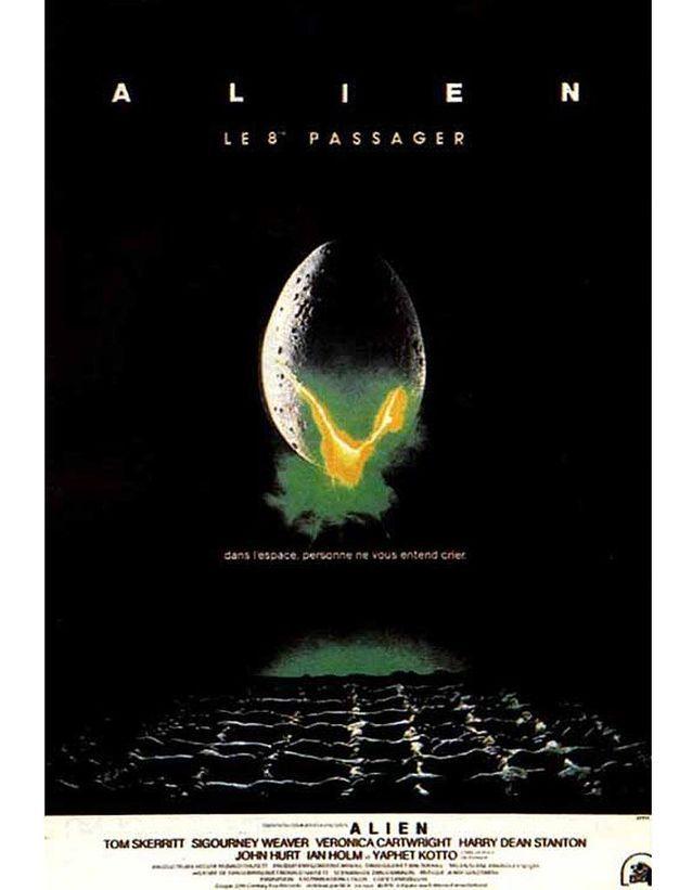 « Alien, le huitième passager » de Ridley Scott