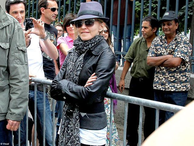 Culture cinema tournage paris Madonna 4