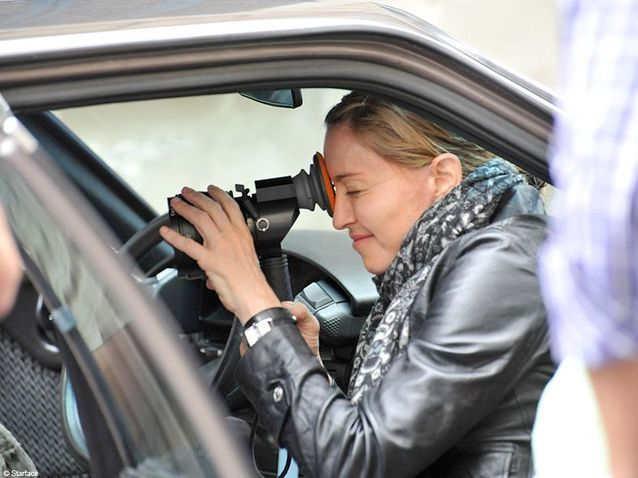 Culture cinema tournage paris Madonna 6