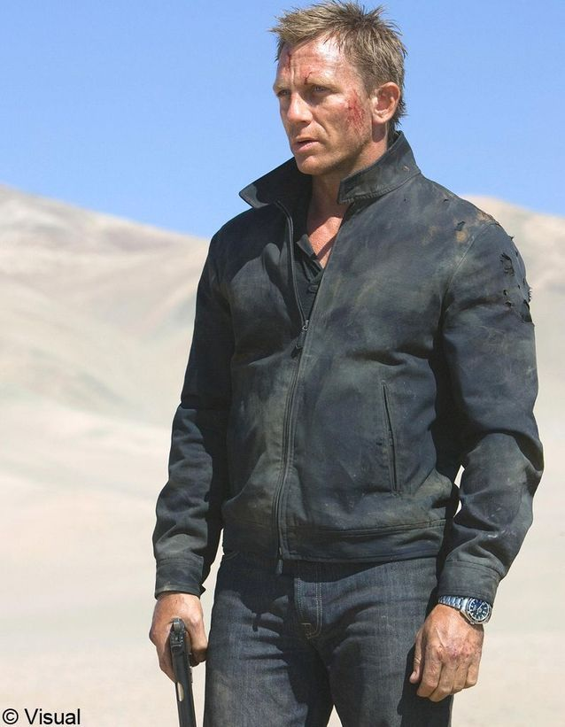 Daniel Craig dans Quantum of Solace