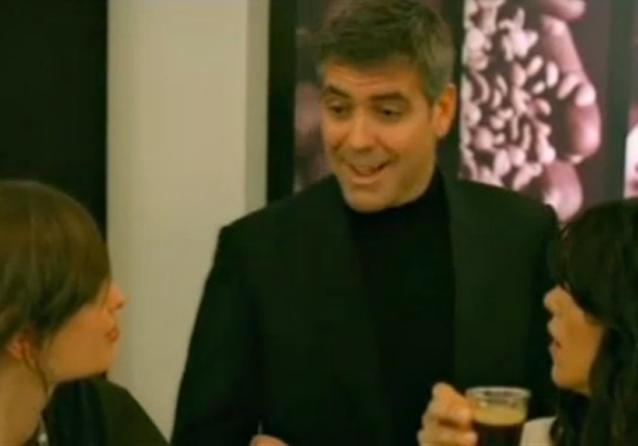 George Clooney dans les publicités Nespresso