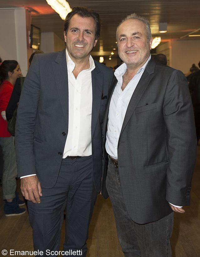 Christophe Lambert et Marco Cherqui
