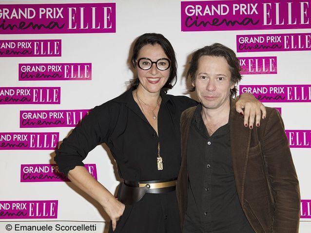 Florence Ben Sadoun (ELLE) et Mathieu Amalric