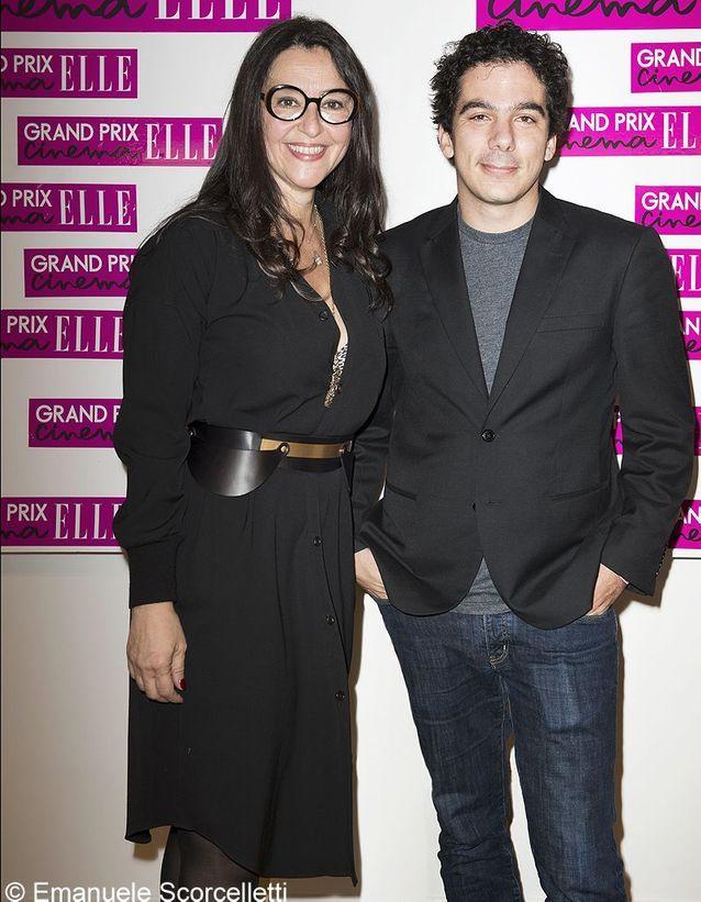 Florence Ben Sadoun (ELLE) et Nathanaël Karmitz
