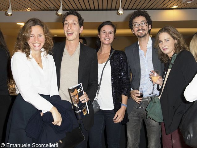 Marion Ruggieri, Stéphane Foenkinos, Nathalie Dupuis, David Foenkinos et Olivia de Lamberterie