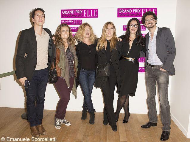 Stéphane Foenkinos, Liza Azuelos, Stéphanie Murat, Mathilde Seigner, Florence Ben Sadoun (ELLE), David Foenkinos