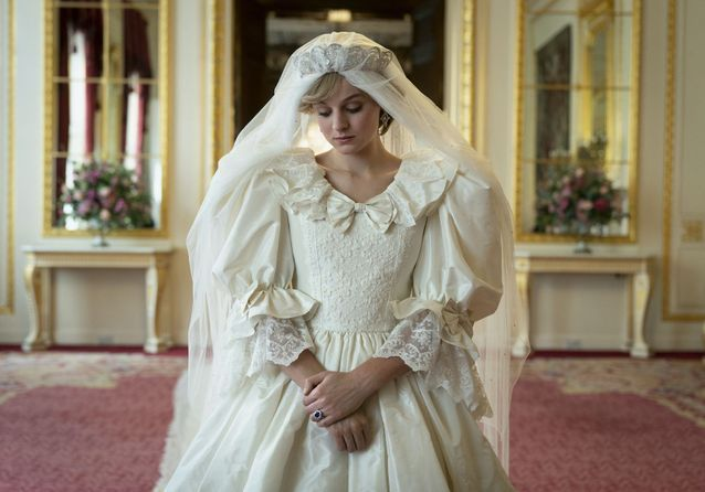 Emma Corrin dans « The Crown » (2020)