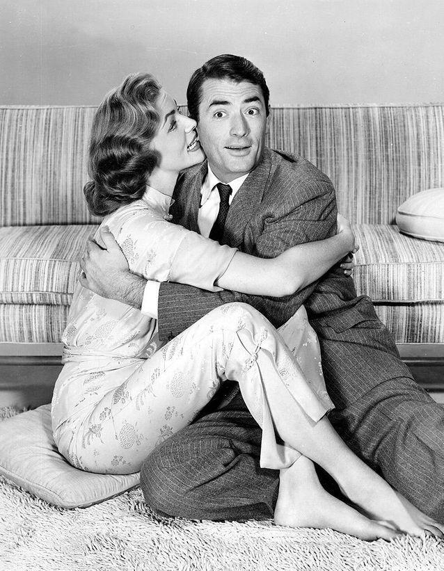 Avec Gregory Peck