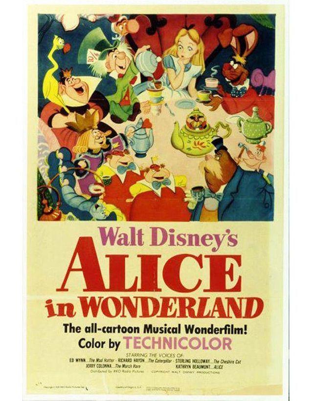« Alice aux pays des Merveilles », 1951