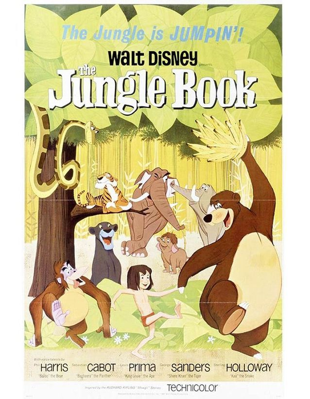 « Le Livre de la jungle », 1967