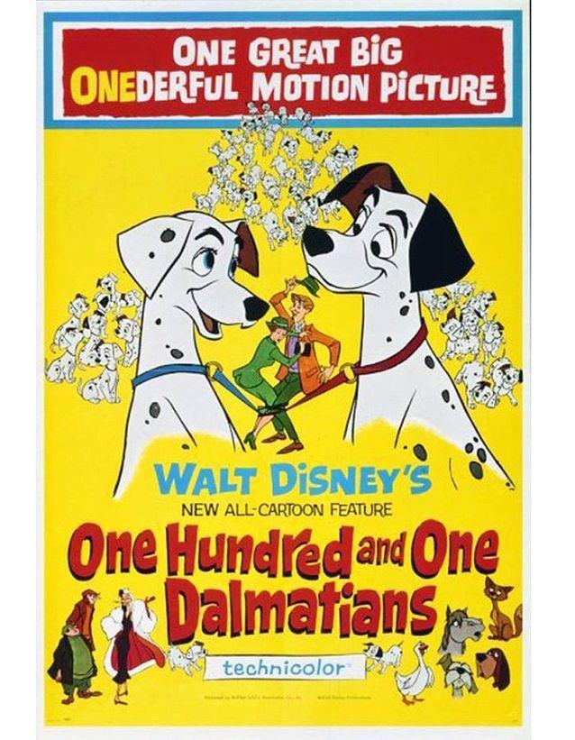 « Les 101 Dalmatiens », 1961