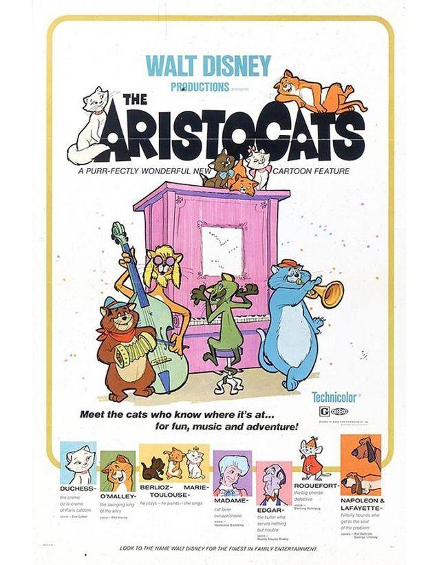 « Les Aristochats », 1970