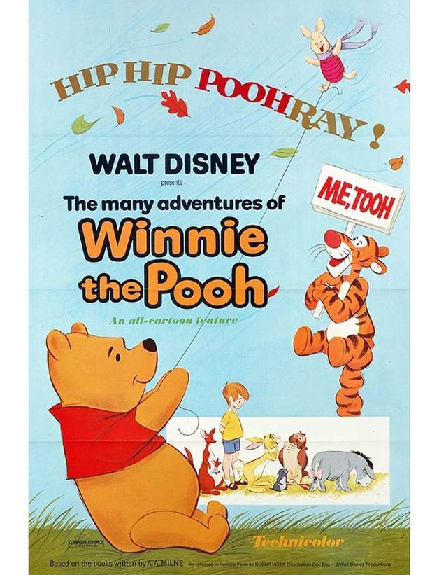 « Les Aventures de Winnie l'ourson », 1977