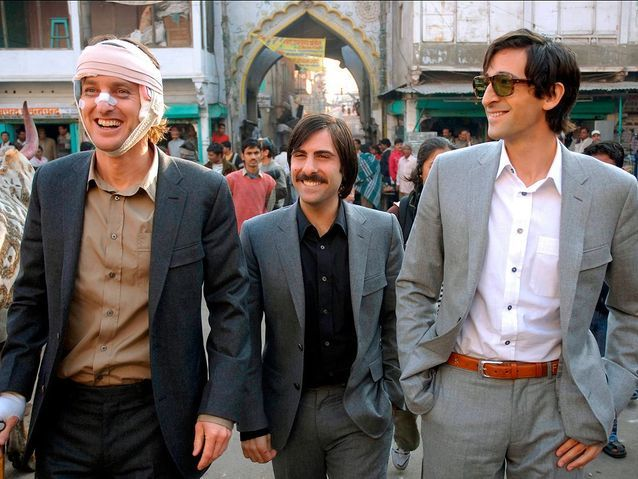 Adrien Brody dans « A bord du Darjeeling Limited » (2007)
