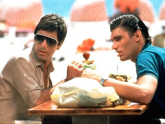 Al Pacino dans « Scarface » (1983)