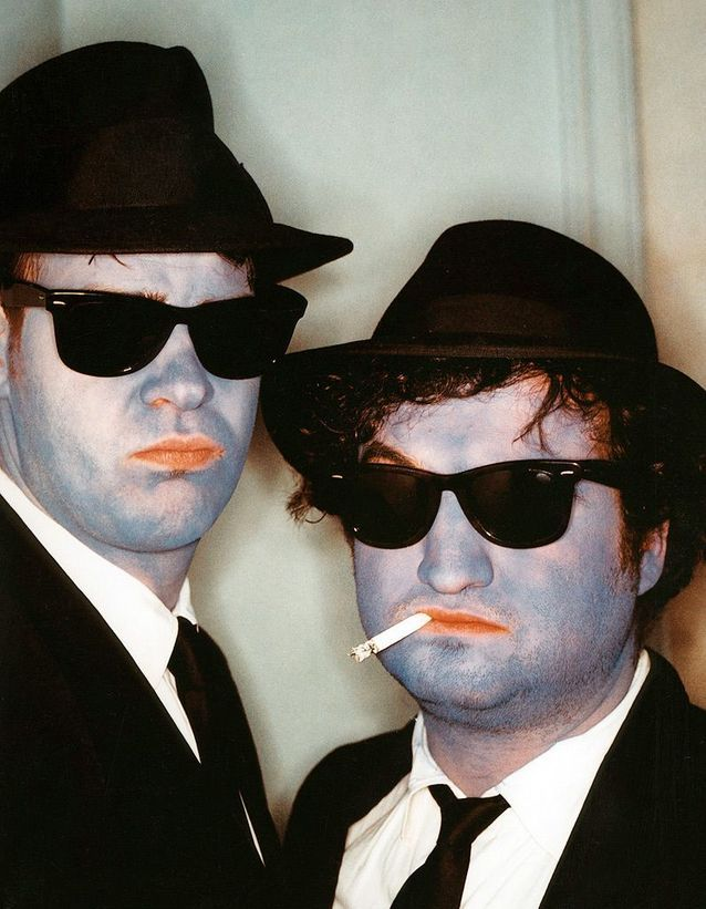 Dan Aykroyd et John Belushi dans « The Blues Brothers» (1980)