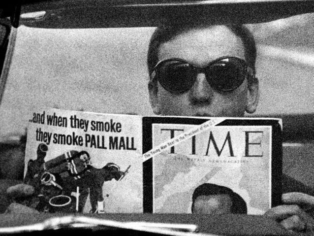 Jean-Louis Trintignant dans « Un homme et une femme » (1966)