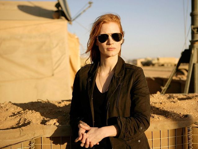 Jessica Chastain dans « Zero Dark Thirty » (2012)