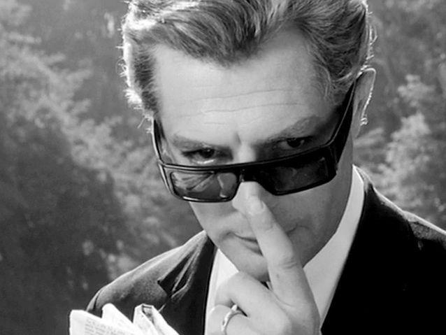 Marcello Mastroianni dans « Huit et demi » (1963)